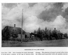m *. . BMufc.* ; RESIDENCE OF WILLIAM HRUZA. born June, 1859. After learning his trade thorough in his native at the of sixteen years Storage. The abattoir is located several miles down the valley and is provided with all modern conveni