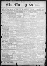 About The evening herald  [volume] (Shenandoah, Pa ) 1891-1966