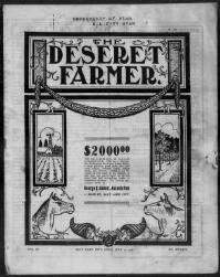 Thumbnail for the Jul. 11, 1908 edition of the Deseret Farmer