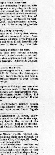 Capital city courier  (Lincoln, Neb ) 1885-1893, January 07, 1888