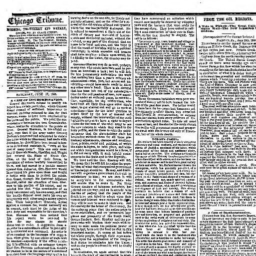 ec91075963 Chicago tribune. (Chicago, Ill.) 1864-1872, June 17, 1865, Image 2 «  Chronicling America « Library of Congress