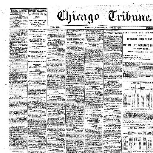 2824fd0aadc7 Chicago tribune. (Chicago
