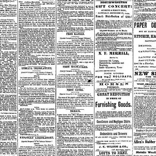 Chicago tribune  (Chicago, Ill ) 1864-1872, December 12, 1865, Image