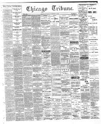 Chicago tribune  [volume] (Chicago, Ill ) 1864-1872