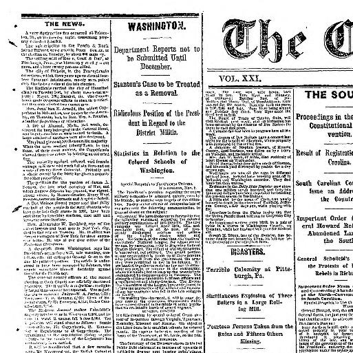 b6b3b3d3 Chicago tribune. (Chicago, Ill.) 1864-1872, November 09, 1867, Image 1 «  Chronicling America « Library of Congress