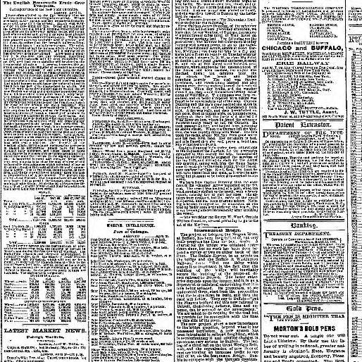 Chicago Tribune Chicago Ill 1864 1872 April 21 1868 Image 3