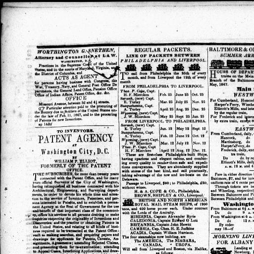 The Daily National Whig Washington D C 1847 1849 August 09
