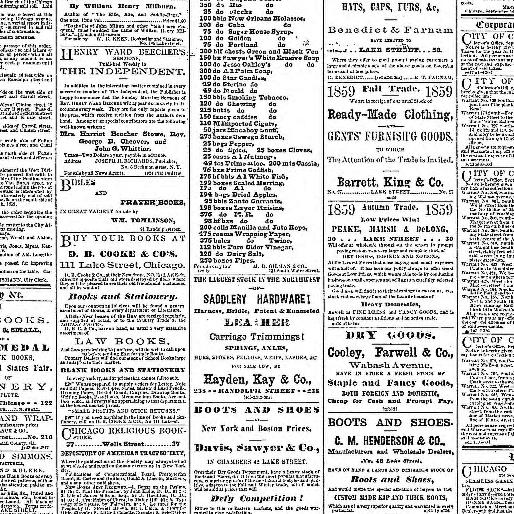 The press and tribune  (Chicago, Ill ) 1859-1860, September 28, 1859