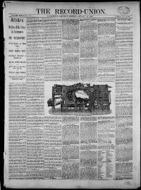 Thumbnail for the Jan. 10, 1891 edition of the The Record-Union