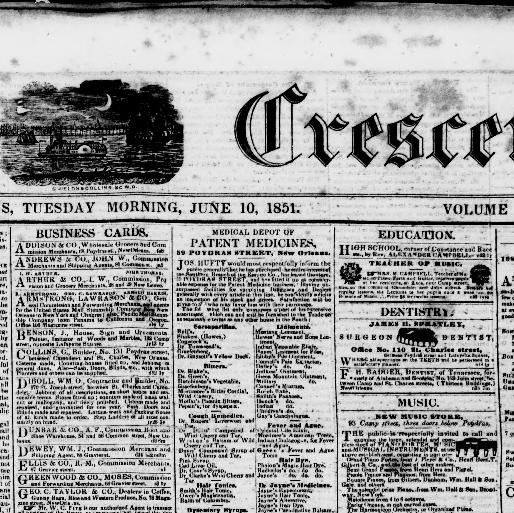 The daily crescent. ( New Orleans 711ccebe1a8a