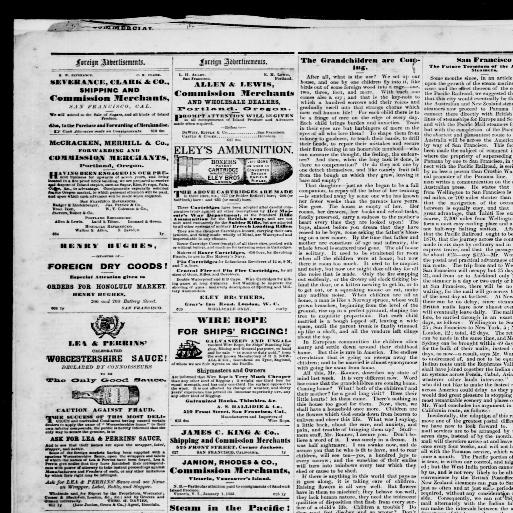 e910ba78 The Pacific commercial advertiser., July 25, 1868, Image 4. About The  Pacific commercial advertiser. (Honolulu, Hawaiian Islands) 1856-1888