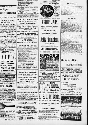 Morning journal and courier  (New Haven [Conn ]) 1848-1894, August