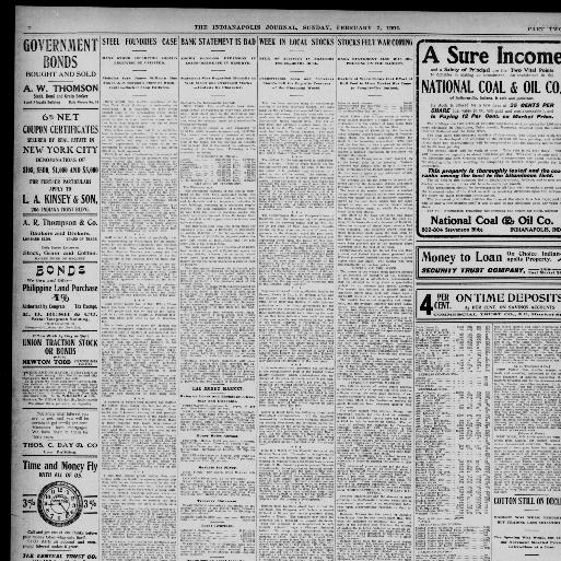 The Indianapolis journal  (Indianapolis [Ind ]) 1867-1904