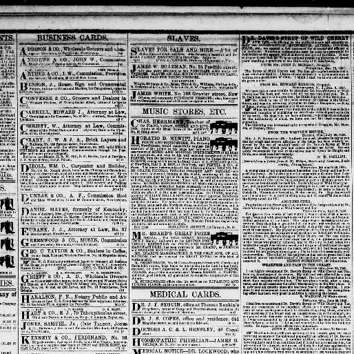 New orleans daily crescent new orleans la 1851 1866 april 23 new orleans daily crescent new orleans la 1851 1866 april 23 1852 morning image 4 chronicling america library of congress reheart Gallery