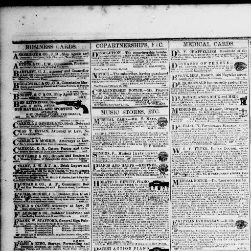New orleans daily crescent new orleans la 1851 1866 may 23 new orleans daily crescent new orleans la 1851 1866 may 23 1853 morning image 4 chronicling america library of congress reheart Choice Image