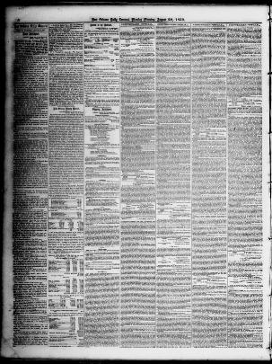 New Orleans Daily Crescent New Orleans La 1851 1866
