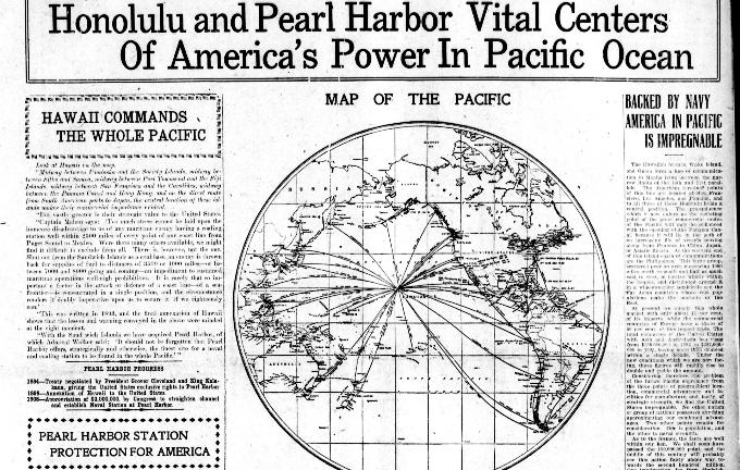 Pearl Harbor Hawaii Digital Newspaper Project – Pearl Harbor Worksheet