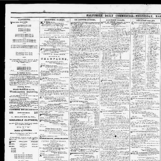 Baltimore daily commercial  (Baltimore, Md ) 1865-1867