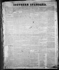 Thumbnail for the Feb. 1, 1851 edition of the Southern Standard