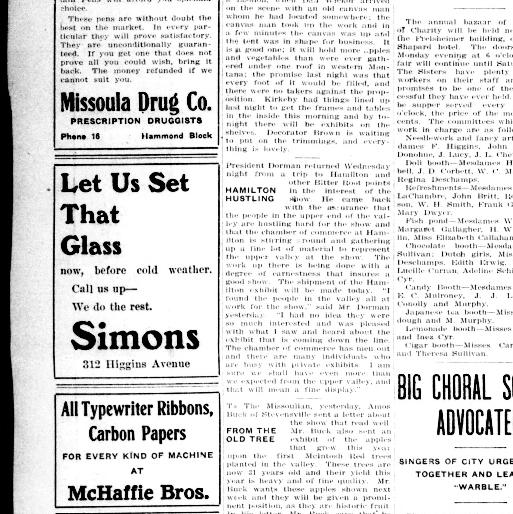 The Daily Missoulian  (Missoula, Mont ) 1904-1961, October