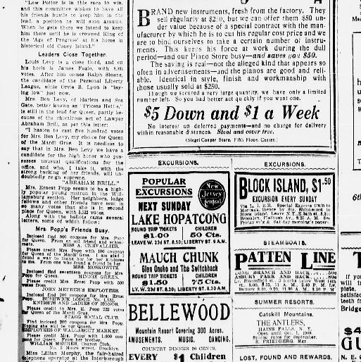 The Evening World New York N Y 1887 1931 August 20 1908