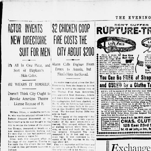 The Evening World New York N Y 1887 1931 March 18 1909 Final