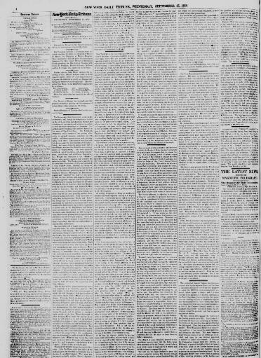 0d87905b4a New-York daily tribune. (New-York [N.Y.]) 1842-1866, September 15, 1858,  Page 4, Image 4 « Chronicling America « Library of Congress