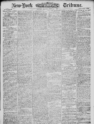 New-York tribune  (New York [N Y ]) 1866-1924, February 07, 1881