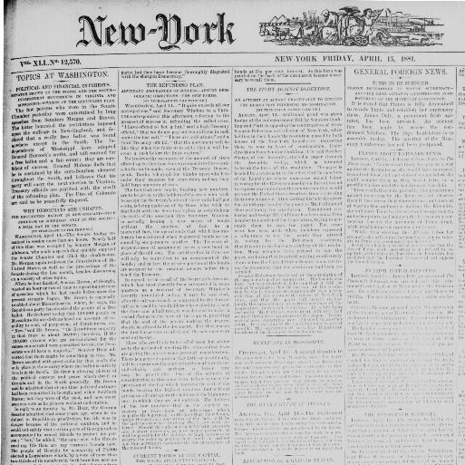 New-York tribune  (New York [N Y ]) 1866-1924, April 15