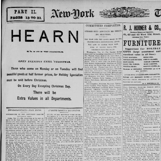 New York Tribune New York Ny 1866 1924 December 22 1889