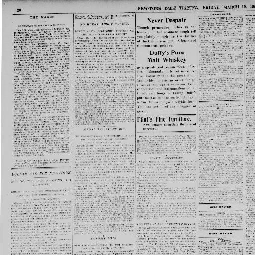 New-York tribune  (New York [N Y ]) 1866-1924, March 19
