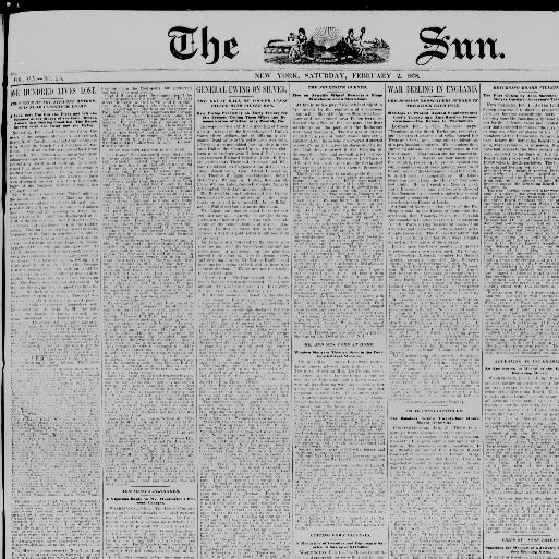 The sun  (New York [N Y ]) 1833-1916, February 02, 1878