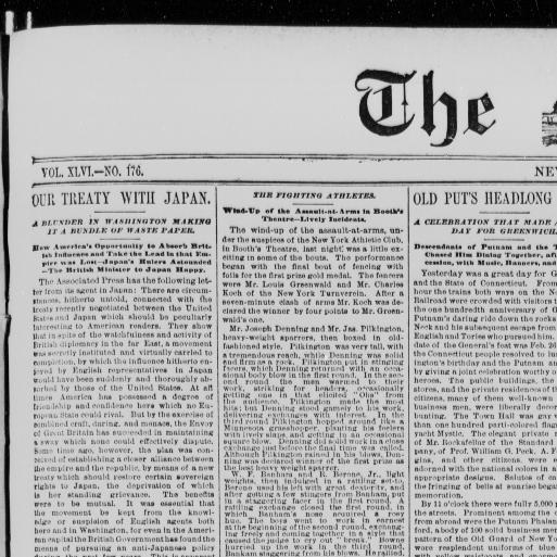 The Sun New York Ny 1833 1916 February 23 1879 Image 1