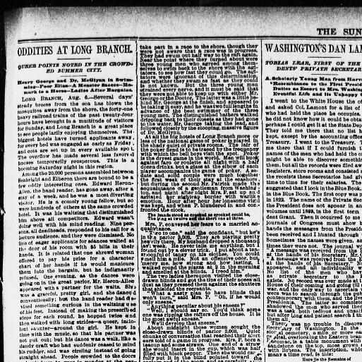 The sun  (New York [N Y ]) 1833-1916, August 07, 1887, Page