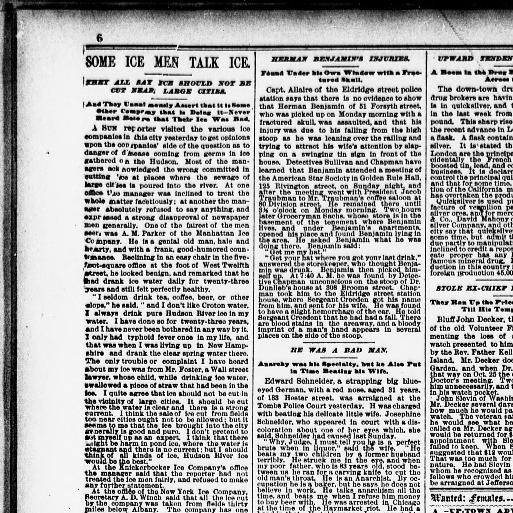 The Sun New York N Y 1833 1916 December 08 1887 Page 6
