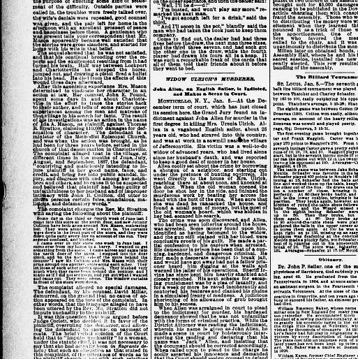 The Sun New York Ny 1833 1916 January 06 1888 Page 2