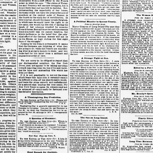 The sun  (New York [N Y ]) 1833-1916, October 18, 1888, Page 4