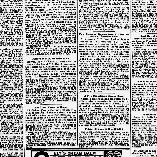 The Sun New York NY 1833 1916 November 08 1890 Page 2 Image Chronicling America Library Of Congress