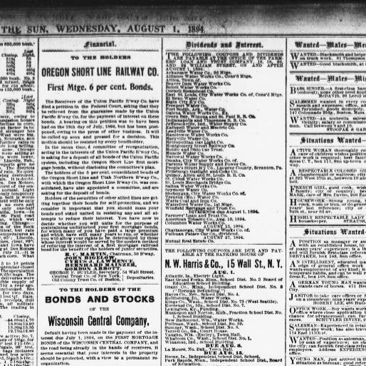 The Sun August 01 1894 Page 9 Image About New York NY 1833 1916