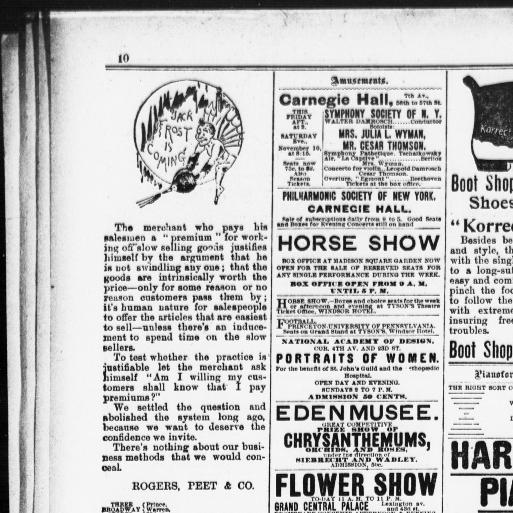 the sun new york n y 1833 1916 november 09 1894 page 10 Rover Automobiles the sun new york n y 1833 1916 november 09 1894 page 10 image 10 chronicling america library of congress