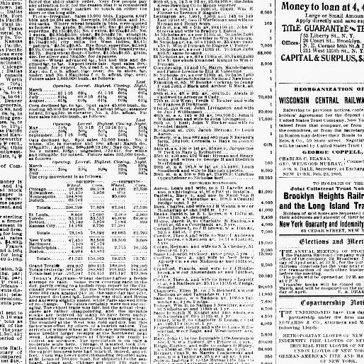 The Sun New York N Y 1833 1916 March 22 1895 Page 9 Image