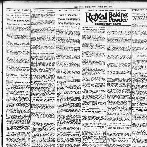 The sun  (New York [N Y ]) 1833-1916, June 27, 1895, Page 3
