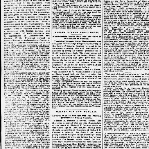 The sun  (New York [N Y ]) 1833-1916, January 26, 1897, Page