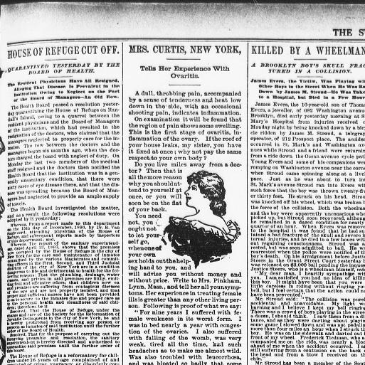 the sun new york n y 1833 1916 april 14 1897 page 9 image Haunted House Near Me the sun new york n y 1833 1916 april 14 1897 page 9 image 9 chronicling america library of congress