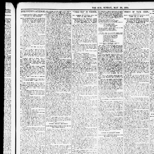 The sun New York [N Y ] 1833 1916 May 26 1901 Page 3 Image 29