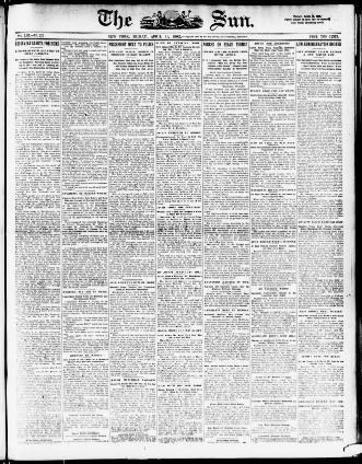 The sun  (New York [N Y ]) 1833-1916, April 11, 1902, Image 1