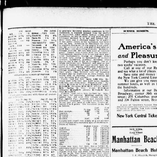 The Sun New York N Y 1833 1916 August 24 1902 Third Section