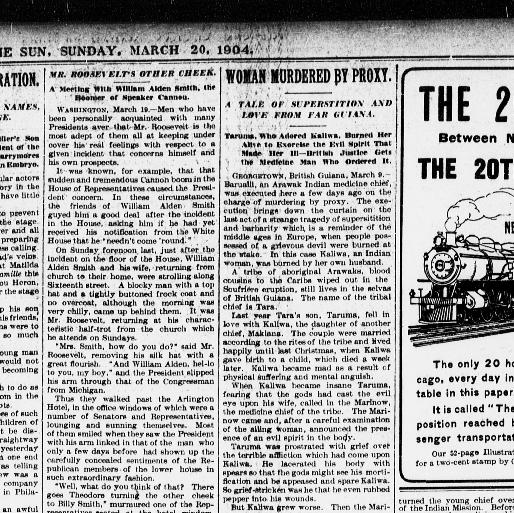 The sun  (New York [N Y ]) 1833-1916, March 20, 1904, Second Section