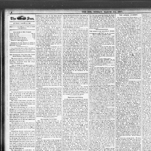 The sun  (New York [N Y ]) 1833-1916, March 24, 1907, Page 8, Image