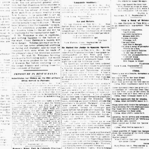 The sun  (New York [N Y ]) 1833-1916, September 11, 1910, Page 8